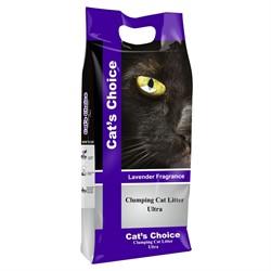 Indian Cat Litter Аромат Лаванда наполнитель бентонит  5 кг - фото 27612