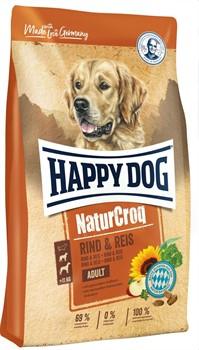 HAPPY DOG корм д/с Натур.крок говядина/рис - фото 30293