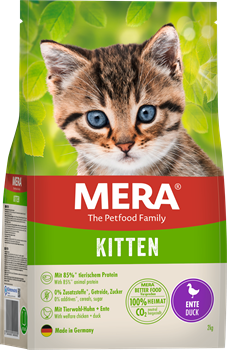 Mera Cats Kitten Duck для котят с уткой - фото 30941