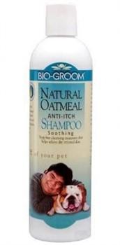 Шампунь целебный (конц. 1:4) Natural Oatmeal с толокном 355 мл. Biogroom - фото 4817