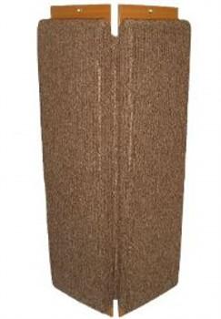 Зверьё моё В-2 Когтеточка ковровая с пропиткой угловая средняя - фото 4878