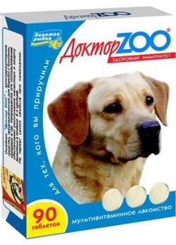 Доктор ЗОО м/в Лакомство д/собак Повышает иммунитет Морские водоросли 90таб - фото 4909
