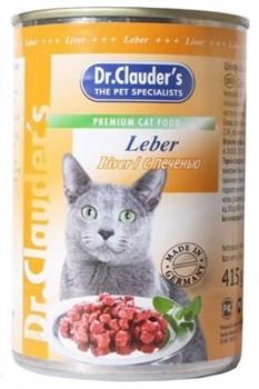 Доктор Клаудер  кон.д/кошек с Печенью 415г - фото 5774