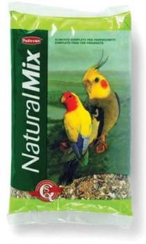 PADOVAN Падован Naturalmix Parrocchetti Корм д/средних попугаев 850г - фото 6105