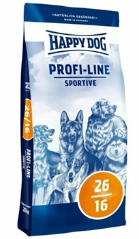 HAPPY DOG  Профи Крокетт 26-16 Спорт  20 кг - фото 8392