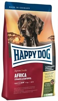HAPPY DOG корм д/собак Африка страус - фото 8400