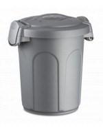 Stefanplast контейнер Speedy 8 л для корма 24x27x31см, серый - фото 8569