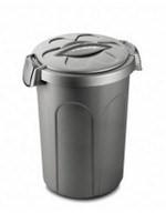 Stefanplast контейнер Tom для 16кг корма, 45*40*61см, серый - фото 8572