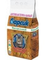 БАРСИК натуральный наполнитель д/кошачьего туалета 4,54л - фото 8628
