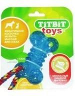 ТитБит Косточка жевательная (игрушка для собак) 10см - фото 9464
