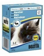 BOZITA  Кусочки в соусе для кошек с оленем, Bozita in Sauce with Reindeer - фото 9536