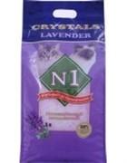N1 Силикагелевый наполнитель Лаванда (Crystals Lavender)