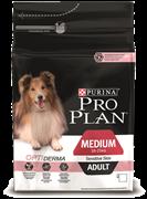PRO PLAN® OPTIDERMA® для взрослых собак средних пород с чувствительной кожей