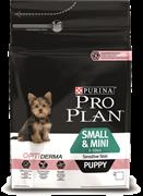 PRO PLAN® OPTIDERMA® для щенков мелких и карликовых пород с чувствительной кожей