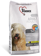 1ST CHOICE От 1 года и старше для взрослых собак всех пород гипоаллергенный Карт и утка