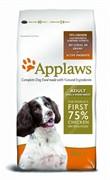 APPLAWS Беззерновой для Собак малых и средних пород Курица/Овощи: 75/25% (Dry Dog Chicken Small & Medium Breed Adult)