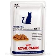 ROYAL CANIN (Роял Канин) Паучи для кастрированных котов и кошек с избыточным весом (1-7 лет), Neutered Weight Balance