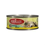 BERKLEY Беркли Консервы для кошек с индейкой и рисом, Adult Turkey&Rice
