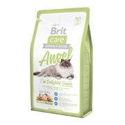 Brit Сухой корм для пожилых кошек с курицей  Care Cat Angel Delighted Senior