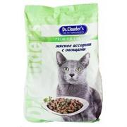 Доктор Клаудер корм д/кошек Мясное ассорти с овощами
