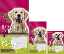 NERO GOLD Для Взрослых собак c Олениной и сладким картофелем