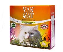 VAN CAT Комкующийся наполнитель 100% Натуральный, без пыли, коробка (Natural)