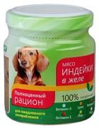 ТитБит Консервы для собак мясо индейки в желе