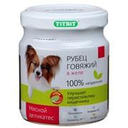 ТитБит Рубец говяжий в желе (100 гр.)