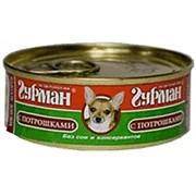 Четвероногий Гурман  консервы д/собак Мясное ассорти с Потрошками 100г