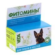 Фитомины для Зубов и Костей (собака), 100таб.