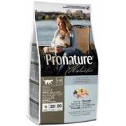 Pronature Холистик корм для кошек для кожи и шерсти, лосось с рисом (5,44 кг)