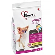1st Choice Взрослые собаки декоративных и мелких пород   для здоровья кожи и шерсти (7 кг)