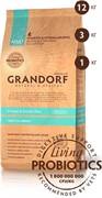 Grandorf  Четыре вида мяса с бурым рисом для взрослых собак всех пород (12 кг)