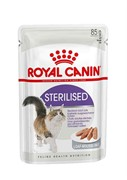 ROYAL CANIN паштет для кастрированных кошек 1-7лет, Sterilized
