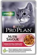 Pro Plan д/к конс.в/у  Nutri Savour STERILISED соус утка 85г