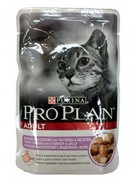 Pro Plan д/к конс.в/у  Nutri Savour ADULT Cat желе индейка 85г