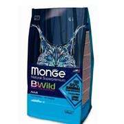 Monge BWild Cat Anchovies для взрослых кошек с анчоусами (10 кг)