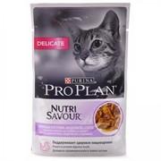 Pro Plan д/к конс.в/у  Nutri Savour DELIKATE соус индейка (0,085 кг)