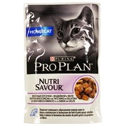 Pro Plan д/к конс.в/у  Nutri Savour HOUSE CAT желе индейка (0,085 кг)