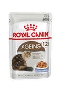 ROYAL CANIN Кусочки в желе для кошек старше 12 лет, Ageing+12 (0,085 кг)