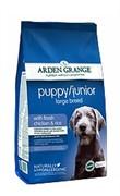 Arden Grange  Корм сухой для щенков и молодых собак крупных пород  AG Puppy/Junior Large Breed