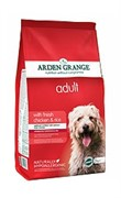Arden Grange  Корм сухой для взрослых собак, с курицей и рисом AG Adult Dog Chicken & Rice