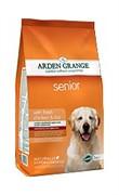 Arden Grange  Корм сухой для собак преклонного возраста  AG Adult Dog Senior