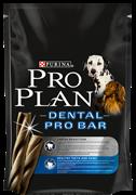 Дентал сухой корм неполнорационный для взрослых собак для поддержания здоровья полости рта пакет