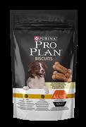 PRO PLAN® Biscuits Light для стерилизованных собак и собак, склонных к избыточному весу