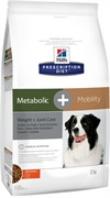 Hills Prescription Diet Metabolic Mobility Сухой корм для коррекции веса + забота о суставах