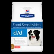 Hills PD Canine D/D Salmon & Rice - Хилс D D лечебный сухой корм для собак (лосось с рисом)