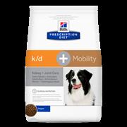 Hills PD Canine K/D - Хиллc KD лечебный сухой корм для собак k/d+Mobility Canine Original
