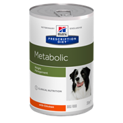 Hills Prescription Diet Metabolic Хиллс Диета для собак консервы для коррекции веса