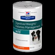 Hills PD Canine W/D - Хиллc WD Лечебные консервы для собак